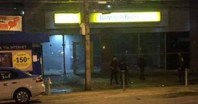 Bandidos explodem Banco do Brasil do Largo do Bicão
