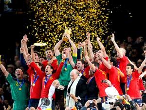 Espanha Campeã Mundial de 2010