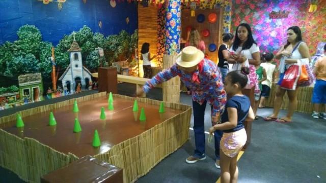 Shopping terá atrações típicas para a criançada - Foto: Divulgação