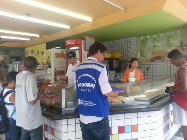 Procon fiscaliza pastelarias da região - Foto: Divulgação