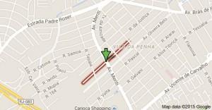 Rua Feliciano Pena - Image: Reprodução Internet