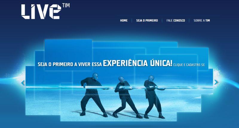 Live Tim | Reprodução da internet