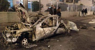 Explosão de carro a gás no Rio mata homem que passava pela rua, em Vila da Penha