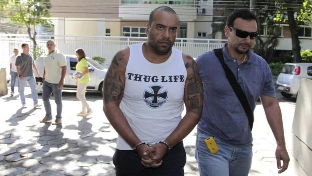 O ex-marido da Mulher Filé foi preso sob acusação de assassinato